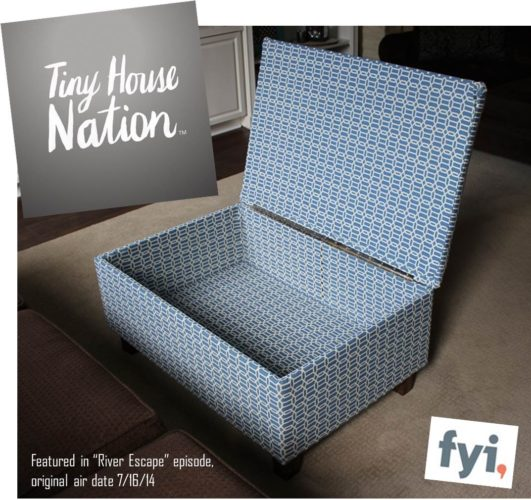 Tiny House Nation- DIY Ottoman