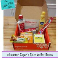 InfluensterSugar n' Spice VoxBox  review