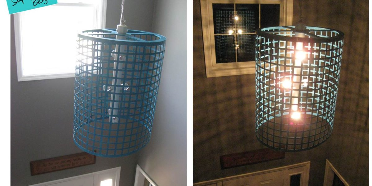 DIY Chandelier Light Fixture
