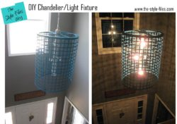 DIY Chandelier/Light Fixture