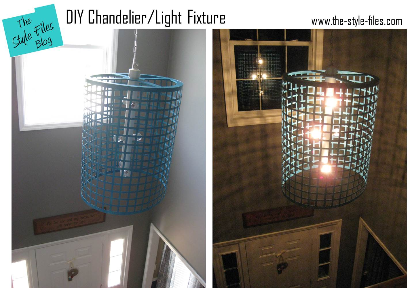 Diy chandelier light fixture the style files diy chandelier light fixture arubaitofo Choice Image