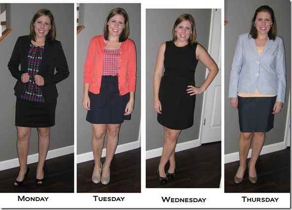 What I Wore to Work- week 1