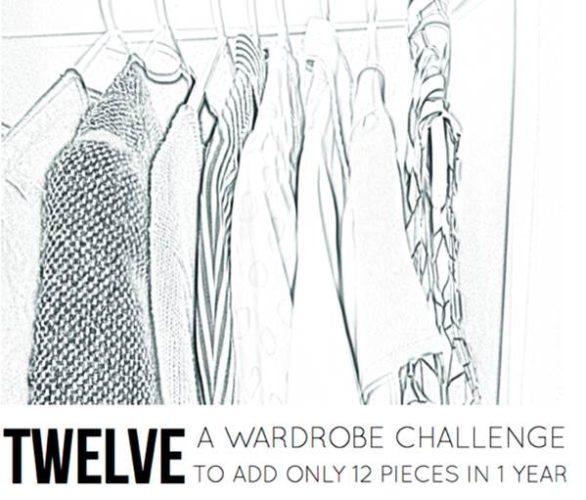 12 items a month wardrobe challenge