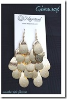 Majestical gold statement earring giveaway
