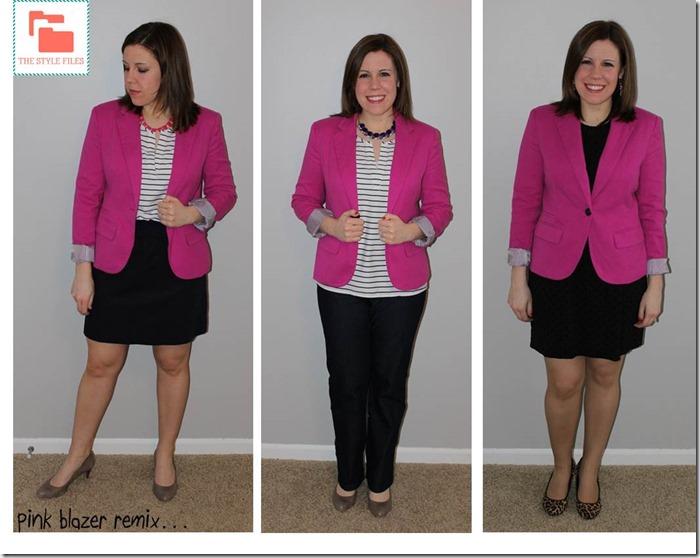 pink blazer remix
