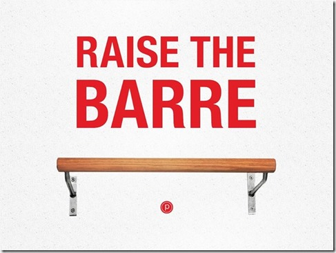 raise the barre