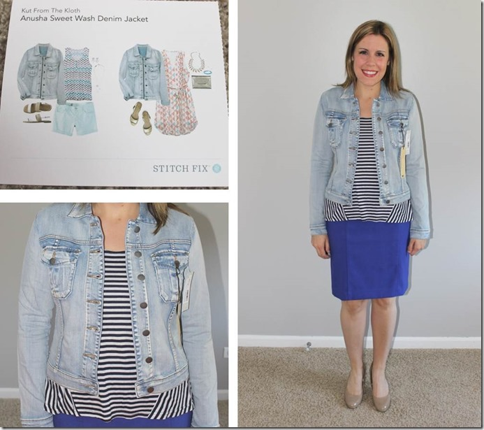 Stitch Fix Anusha Sweet Wash Denim Jacket