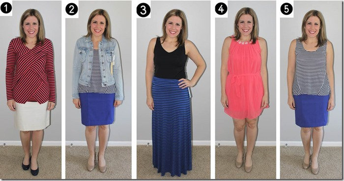 Stitch Fix review- July 2014- What to keep