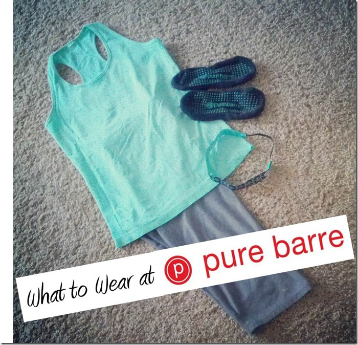 What to wear at Pure Barre- The Style Files blog