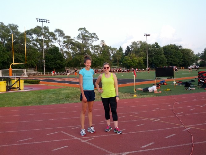 running speed track workout