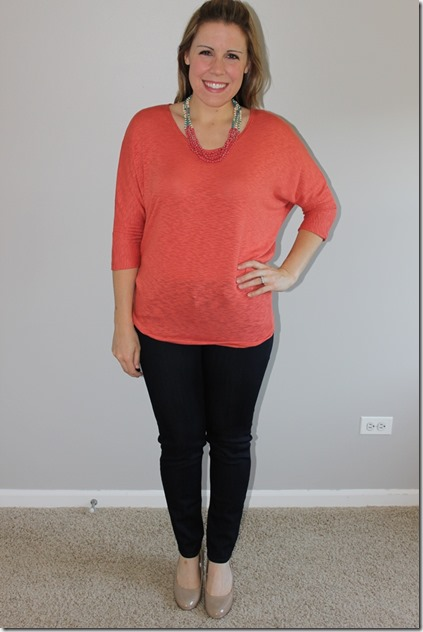 stitch fix Bowie Solid Dolman Sleeve Top by Laila Jayde