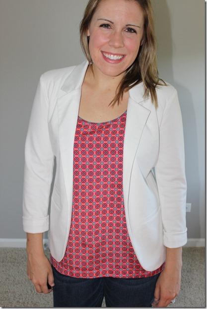 sheinside blazer- casual look