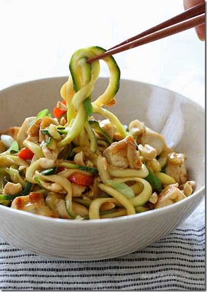 Kung-Pao-Chicken-Zoodles by skinnytaste