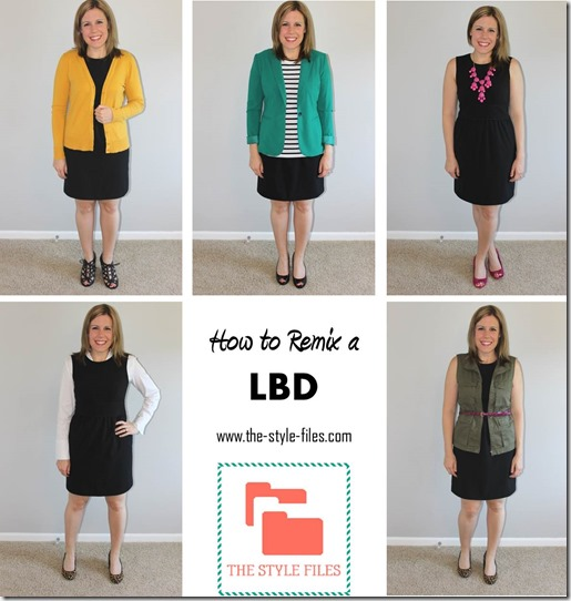 how to style a LBD