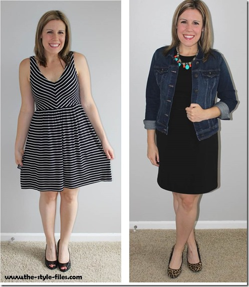 Little Black Dress 2 Ways
