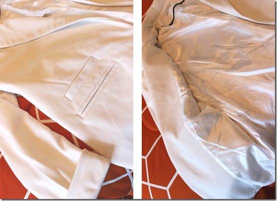 Sheinside Blazer- detail photos