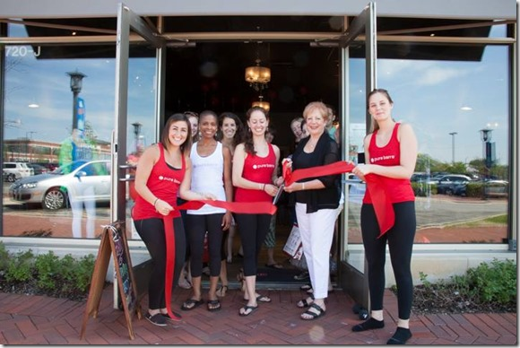 pure barre deerfield grand opening