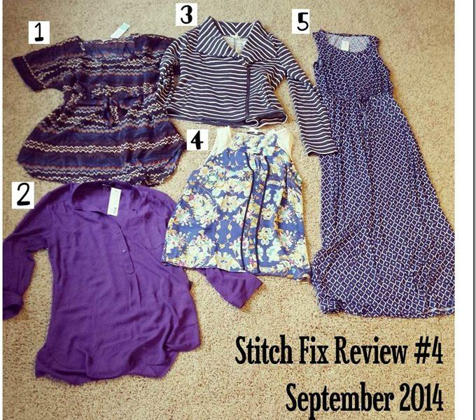 Stitch Fix Review #4 [September 2014]