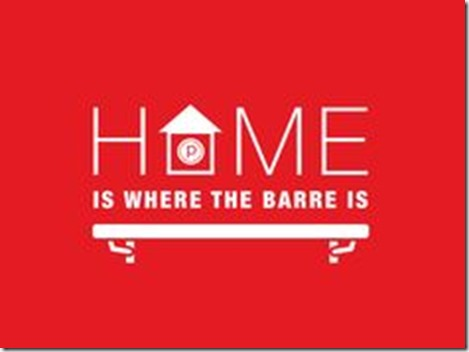 home is where the barre is