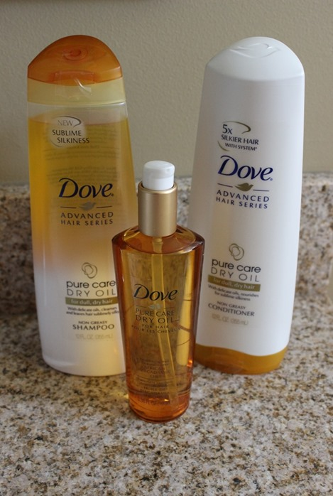 Dove Pure Care Dry Oil products - review