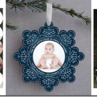 minted.com baby holiday cards