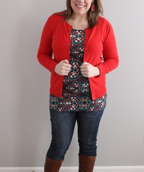 Teal and Red: Pink Blush Maternity