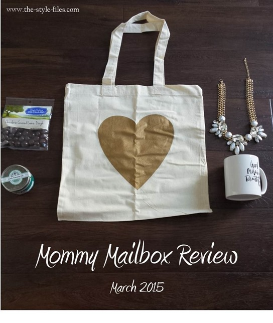 Mommy Mailbox Review- march 2015