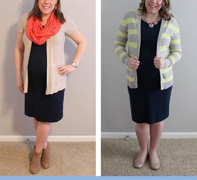 Maternity Style: Target Maternity Dress, Remixed