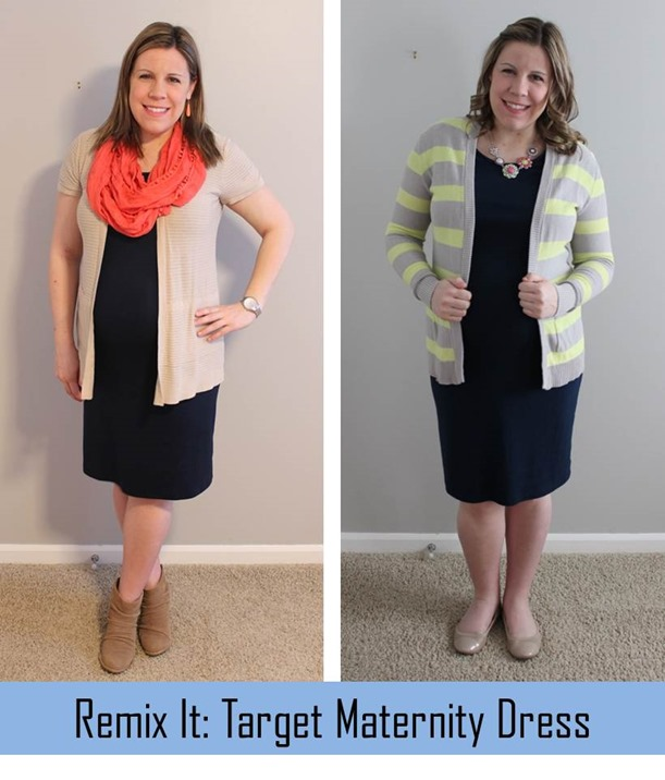 Remix it-Target maternity dress