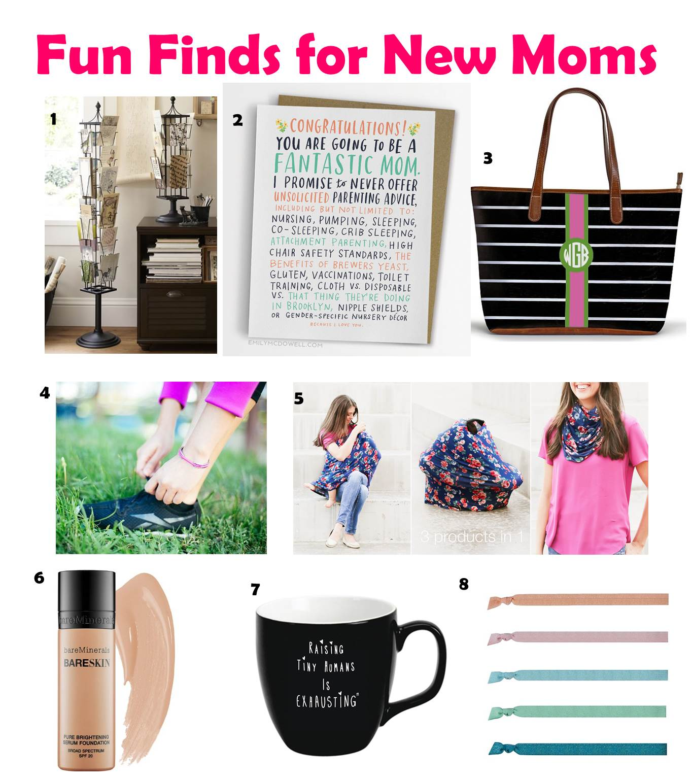 Fun Finds for New Moms