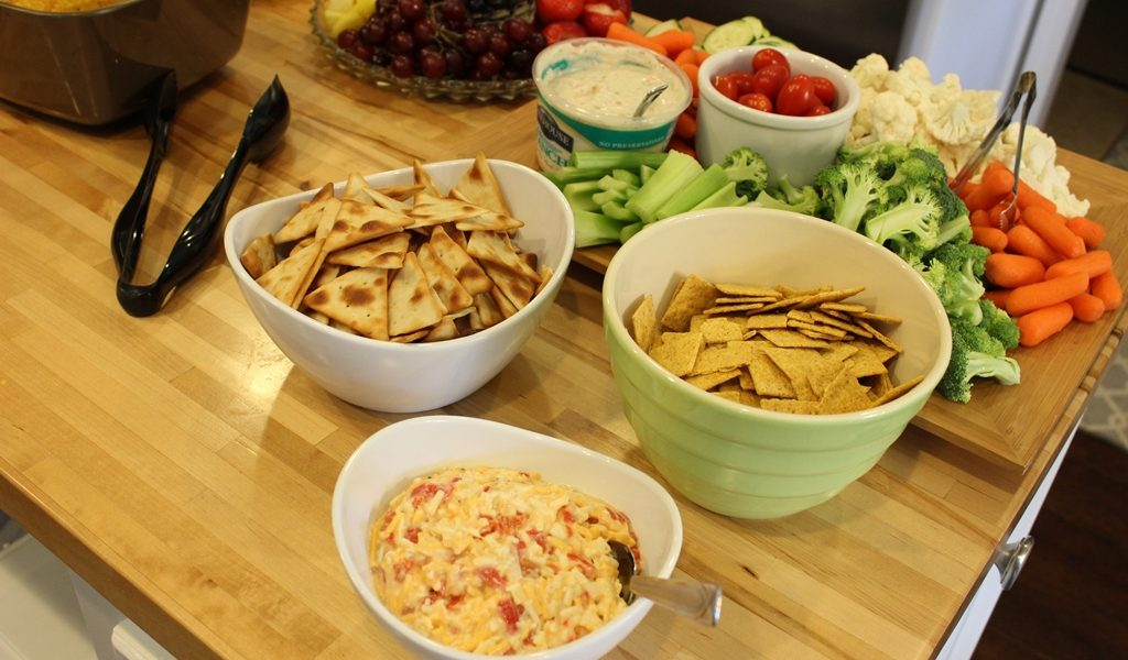 Sweet Swaps: Roasted Red Pepper Cheese Spread