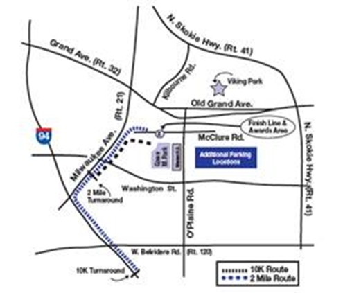 Gurnee Days map