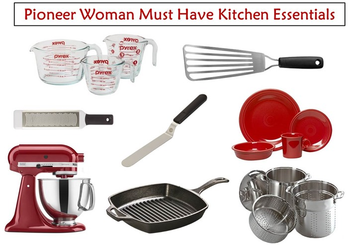 Pioneer Woman Must Have Kitchen Essentials