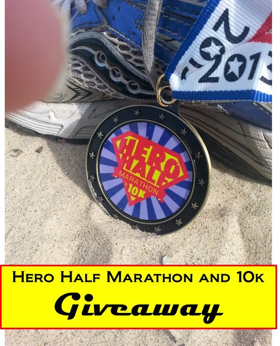 Hero Half Marathon and 10k Giveaway