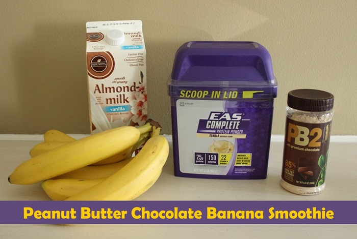 Peanut Butter Chocolate Banana Smoothie Recipe + Protein Powder Recipe ...