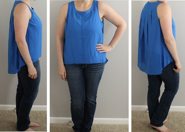 Wantable Style Edit- July 2015- Jack Avalon Blue Top