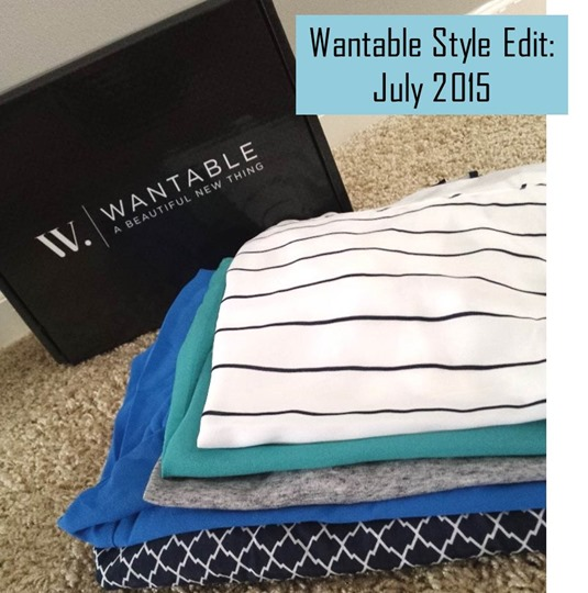 Wantable Style Edit Review: July 2015
