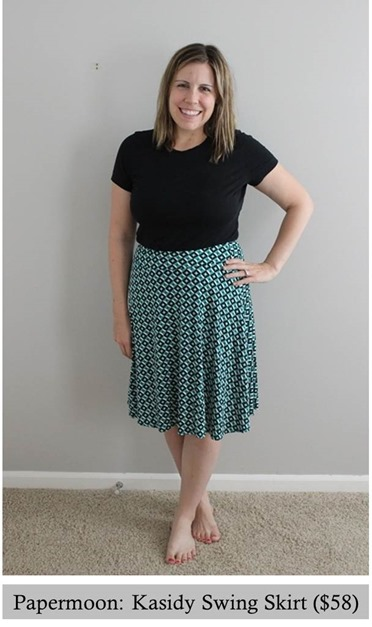 papermoon- kasidy swing skirt, stitch fix