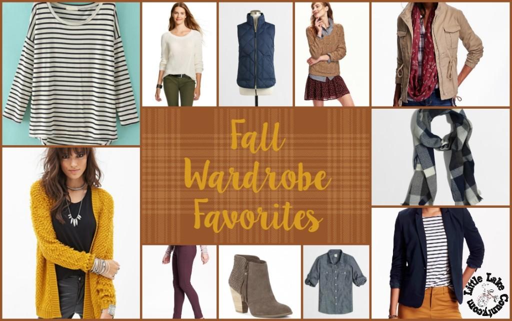 fall wardrobe favorites