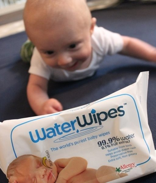 My go-to wipes for my little guy: WaterWipes