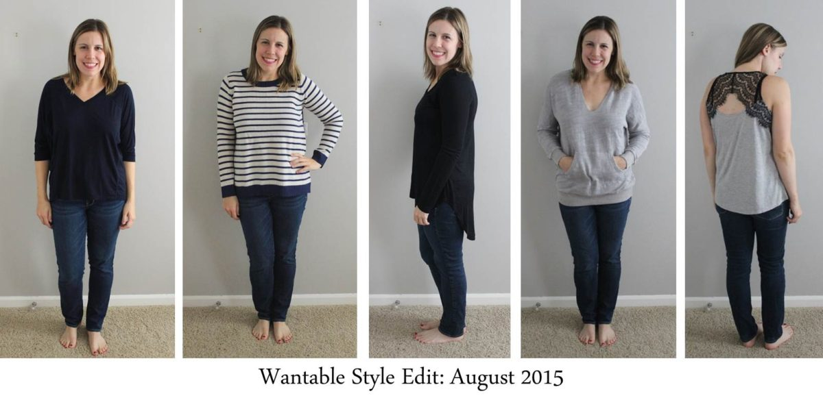 Wantable Style Edit Review, August 2015