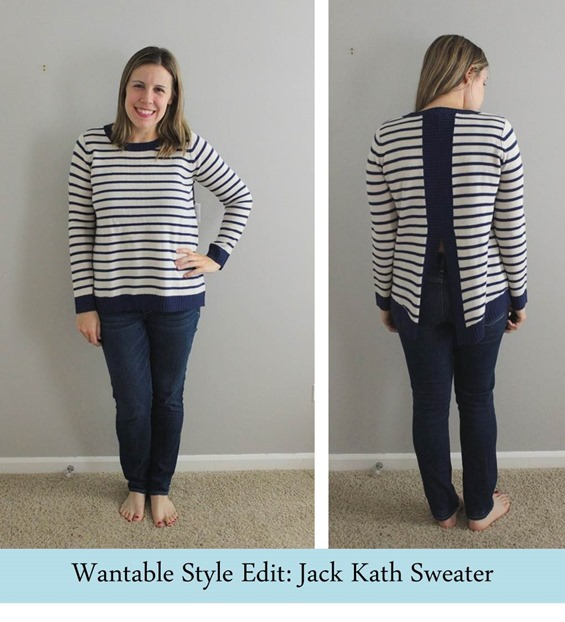 Wantable Style Edit Jack Kath Sweater