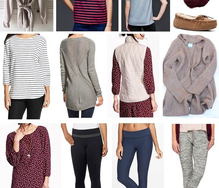 October 2015 Clothing Budget