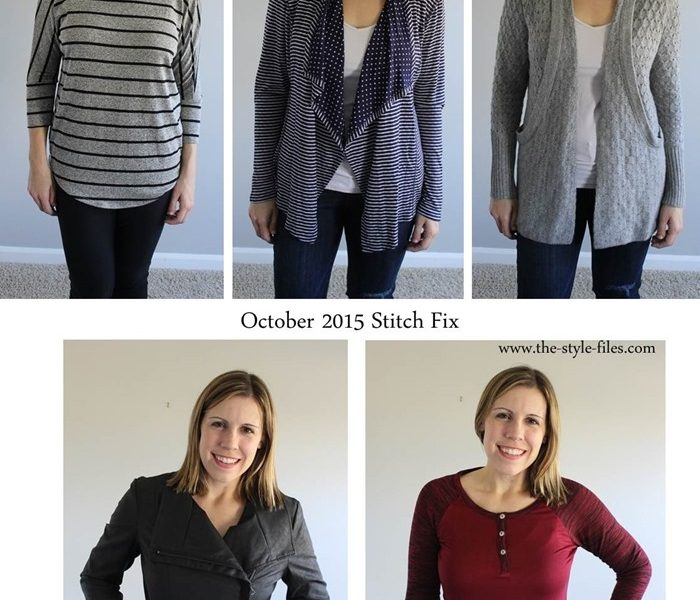 October 2015 Stitch Fix Review