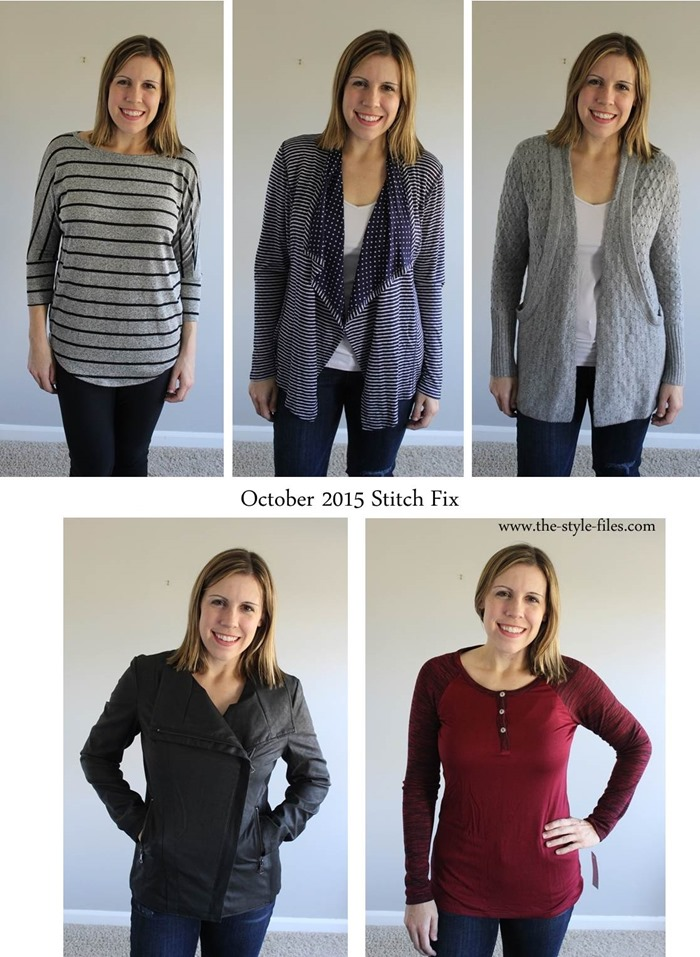 October 2015 Stitch Fix