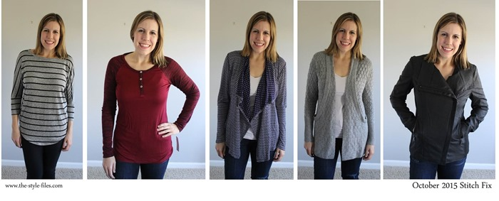 October 2015 Stitch Fix horizontal