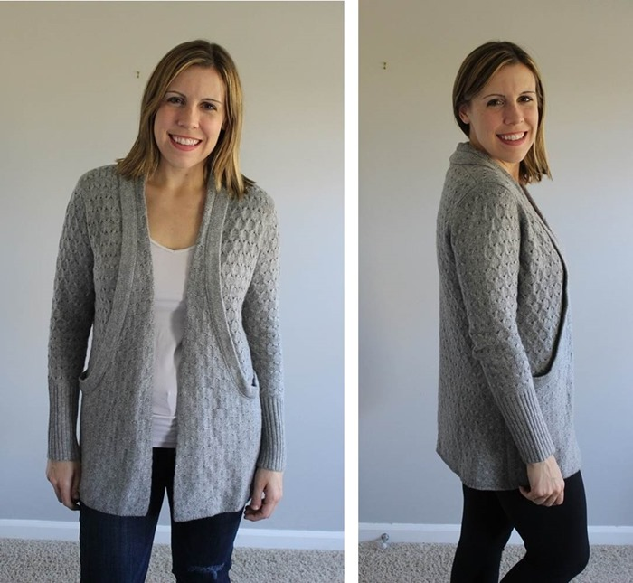 Stitch Fix Brixon Ivy Lawley Cable Knit Open Cardigan