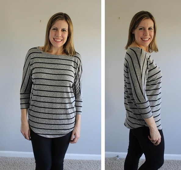 Stitch Fix Market and Spruce Corinna Striped Dolman Top