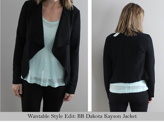 Wantable style- BB Dakota Kayson Jacket
