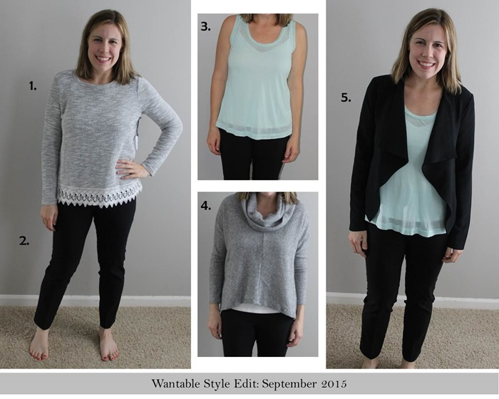 Wantable Style Edit Review, September 2015